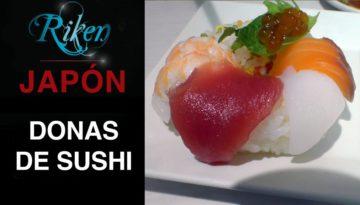 Donas de sushi