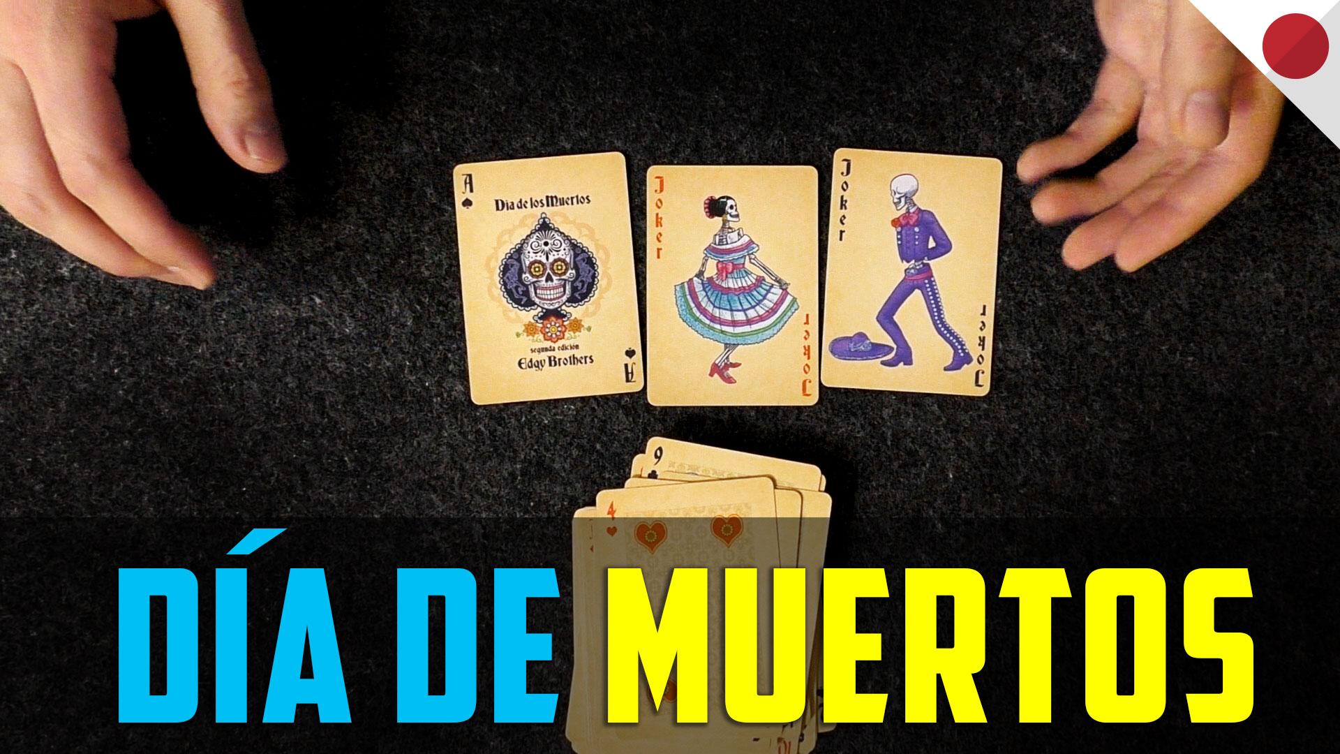 Día de muertos. Story with cards.