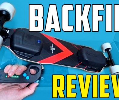 Review de la patineta eléctrica Backfire